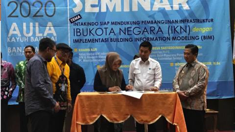 Penandatanganan Naskah MoU dengan INTAKINDO Kota Banjarmasin